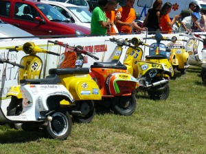 24 hour Vespa Endurance race